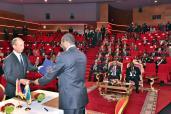 SM el Rey y el jefe del Estado gabonés presiden la ceremonia de presentación de la cooperación marroquí-gabonesa en materia del desarrollo humano