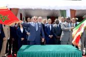 SM el Rey y el presidente senegalés lanzan el proyecto de construcción de un punto de descarga acondicionado de pesca artesanal en Dakar