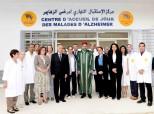 SM el Rey Mohammed VI inaugura, en el barrio de Ennahda en Rabat, un centro de acogida de día de los enfermos de Alzheimer