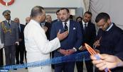 SM el Rey inaugura en Tánger un centro de cualificación profesional marítima