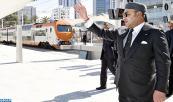 SM el Rey Mohammed VI inaugura la nueva estación ferroviaria de Casa-Port