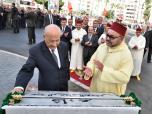 "SM el Rey inaugura la avenida ""Abderrahmane Youssoufi"" en Tánger"