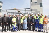 SM el Rey inaugura el sistema anticontaminación del litoral este de la Gran Casablanca, por un importe global de 1,45 mil millones de dírhams