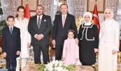 HM King Mohammed VI invited to tea with the family of Turkish president Recep Tayyip Erdogan