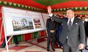 SM el Rey Mohammed VI lanza varios proyectos estructurales, destinados a acompañar el desarrollo socioeconómico y urbano de la ciudad de Tetuán