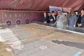 SM el Rey lanza las obras de construcción de la Central Noor Ouarzazate IV, última fase del mayor complejo solar del mundo