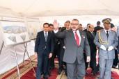 """SM el Rey Mohammed VI lanza las obras de construcción del """"Centro Médico de Proximidad-Fundación Mohammed V para la Solidaridad"""" en la nueva ciudad Errahma en Casablanca"""