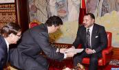 HM King Mohammed VI receives in Tangiers HRH Prince Bandar Ben Khaled Al Faysal
