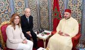 SM el Rey Mohammed VI recibe, en el Palacio Real de Tetuán, a Susana Díaz Pacheco, presidenta de la Junta de Andalucía