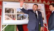 "Tangiers: HM the King launches construction of ""Bir Chifa"" market in Bni Makada neighborhood"
