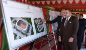 HM King Mohammed VI launches, in the Ziaten neighborhood in Tangier, works of a sports city matching international standards, another step in the Tangier-metropolis program