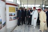"""جلالة الملك والعاهل الإسباني يدشنان بالرباط معرض """"25 سنة من التعاون الأركيولوجي الإسباني- المغربي"""""""