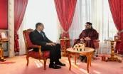 SM le Roi Mohammed VI reçoit au Palais Royal à Rabat M. Ahmed Reda Chami et le nomme président du Conseil Economique, Social et Environnemental (CESE)