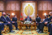 HM King Mohammed VI receives in audience High-level US-Israeli Delegation at Rabat Royal Palace