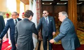 HM King Mohammed VI grants UN Secretary General Antonio Guterres an audience at Rabat royal palace