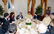 SM el Rey ofrece una cena en honor del presidente francés