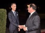 SM le Roi offre un diner en l'honneur de François Hollande présidé par SAR le Prince Héritier Moulay El Hassan