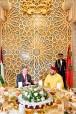 SM el Rey Mohammed VI ofrece, en Rabat, una cena oficial en honor del Soberano del Reino Hachemita de Jordania, SM el Rey Abdallah II Ibn Al-Hussein de Jordania