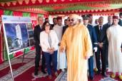 SM el Rey coloca la primera piedra de un complejo administrativo en el puerto de Casablanca