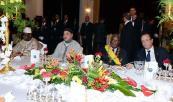جلالة الملك يحضر مأدبة غذاء أقامها الرئيس المالي