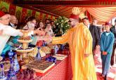 SM el Rey Mohammed VI preside en Tánger una recepción con motivo de su 53º cumpleaños