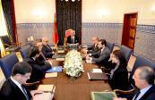 SM el Rey Mohammed VI preside, en el Palacio Real de Tánger, una sesión de trabajo dedicada al sector energético y especialmente al programa nacional de desarrollo de energías renovables