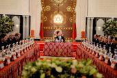 SM el Rey Mohammed VI preside en el Palacio Real en Tánger un Consejo de Ministros