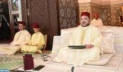SM el Rey Mohammed VI, Amir Al Muminin, preside en Rabat la primera charla religiosa del mes sagrado del Ramadán