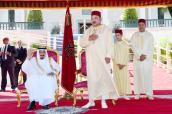 SM el Rey preside en Tánger una recepción con motivo del 52 cumpleaños del Soberano