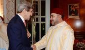 SM el Rey Mohammed VI recibe, en Casablanca, al Secretario de Estado norteamericano, John Kerry