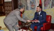 SM el Rey recibe en Tánger a un emisario del presidente tunecino, portador de un mensaje al Soberano