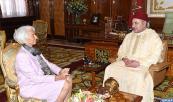 SM el Rey recibe a la directora general del FMI