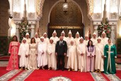 SM el Rey Mohammed VI, Presidente del Consejo Superior del Poder Judicial, recibe y nombra, en el Palacio Real de Casablanca, a los miembros del Consejo Superior del Poder Judicial