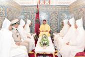 SM el Rey Mohammed VI, Amir Al Muminin, recibe a la delegación oficial que viajará a los Lugares Santos del Islam para la peregrinación