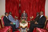HM the King receives Minister-Chief of Staff to President of Côte d'Ivoire