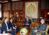 SM el Rey recibe al primer ministro francés