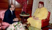 SM el Rey recibe, en el Palacio Real de Casablanca, a Ilyas El Omari, nuevo secretario general del Partido Autenticidad y Modernidad (PAM)