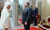 SM el Rey Mohammed VI recibe, en el Palacio Real de Tetuán, a Omar Hilale, y le encarga de las funciones de embajador, representante permanente del Reino de Marruecos ante la Organización de las Naciones Unidas