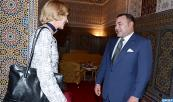 En el marco de las relaciones privilegiadas que unen a Marruecos y Gran Bretaña, SM el Rey recibe en Tetuán a Fiona Woolf, Lord Mayor de Londres