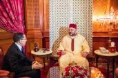 SM el Rey Mohammed VI recibe, en el Palacio Real en Casablanca, a Saad Eddine El Othmani y le encargó formar el nuevo Gobierno