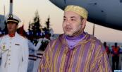 SM el Rey Mohammed VI regresa a Marruecos al término de una visita al Reino de Arabia Saudí