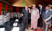 SM el Rey entrega equipamiento para reforzar la producción de agua potable de la ciudad de Bissau