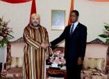 SM el Rey Mohammed VI se entrevista con el presidente de la República de Zambia, Edgar Chagwa Lungu