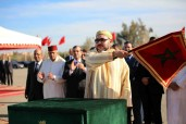 """SM el Rey Mohammed VI lanza en Marrakech las obras de ordenación de la urbanización """"El Goumi"""" para el realojo de 1.199 familias chabolistas"""