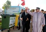 SM el Rey Mohammed VI visita el centro de clasificación y reciclaje de los residuos domésticos y similares de Sidi Bernoussi (región de Gran Casablanca)