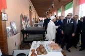 HM King Mohammed VI Visits Restored Historical Sites under 1st Phase of Hay El Mellah Urban Upgrading Project in Marrakesh