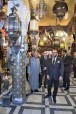 SM el Rey Mohammed VI visita varios sitios históricos restaurados en Barrio El Mellah en Marrakech