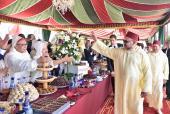 SM el Rey preside en Tetuán una recepción con motivo de la Fiesta del Trono
