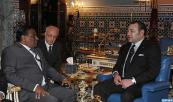 HM the King Mohammed VI receives in Marrakech special envoy of Sri Lankan Pres