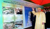 Región Tánger-Tetuán: SM el Rey Mohammed VI  lanza las obras de construcción de la presa Kharroub, con una inversión de 1,6 mil millones de DH
